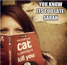 Sarah probably has it comin'
