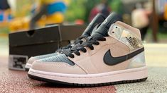 Welcome To Our Store Nike Air Jordan 1 Mid Iridescent Unisex Basketball Shoes Brown Black Sneakers On Sale,Discount Nike Air Jordan Shipping Air Jordan Shoes Sneakers For Sale, Black Sneakers, Jordans Sneakers, Air Jordans, Cheap Jordan Shoes, Air Jordan Shoes, Discount Nikes, Jordan 1 Mid, Basketball Shoes
