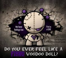 Yes, with my legs ate up with nerve damage so bad i can no longer walk!, -Thanks Fibro!!  #fibromyalgia