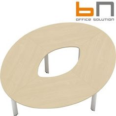 BN CX 3200 Conference Table Arrangement 2 To Seat 8 People  www.officefurnitureonline.co.uk