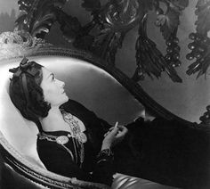 The first lady of fashion, Coco Chanel, photographed by Horst P Horst, 1937.