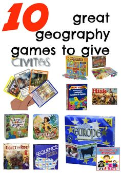 10 great geography games to give as presents