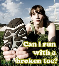 Last night I did a remote consultation for a patient who had a broken toe and wanted to get back to running. That discussion generated several thoughtful questions that I have heard before. These are all excellent questions for an injured runner!  So we're going to talk about all of the things that you should consider if you're a runner and you break one of your toes, but want to keep running.