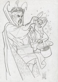 Doctor Strange by Adam Hughes