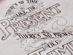 beautiful handwritten typography