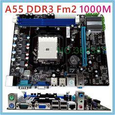 НОВЫЙ DDR3 FM2 A55 материнская плата пк
