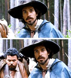 Porthos looks ready to kill someone. They probably stole his melon. << pinning for the comment Drama Series, Tv Series, Howard Charles, Bbc Musketeers, Luke Pasqualino, Tom Burke, Mr Big, Bbc Drama, A Writer's Life