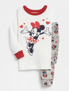 0d7325a191d07 Disney Minnie Mouse PJ Set