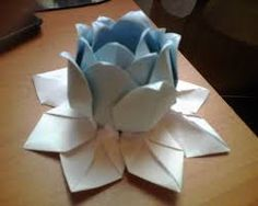 flores de origami -