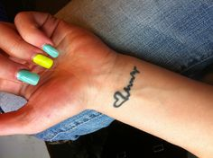 small tattoo heartbeat