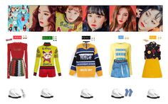 """RED VELVET - ROOKIE❤"" by mabel-2310 on Polyvore featuring Isabel Marant, Guild Prime, Valentino, Nasir Mazhar, Gucci, Miu Miu, Van Cleef & Arpels, VIVETTA, Of Rare Origin and Prada"
