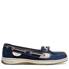 Sperry Top-Sider Women's Solefish Boat Shoes (Navy)