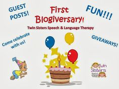 Twin Sisters Speech & Language Therapy: A Guest Post on themed therapy sessions (our favorite) from Jenn at Crazy Speech World!