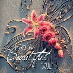 I am a Beautiful Soul by CarlyMarie--Huck could say this without boasting Healing Affirmations, Positive Affirmations, Care Calendar, Secret Law Of Attraction, Framed Prints, Art Prints, Queen, Meaningful Quotes, Uplifting Quotes