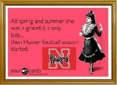Huskers! This is me...