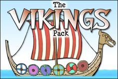Explore the Viking period with our child-friendly eBook, activity materials and display resources! Includes a huge range of information and activities for your children to explore as part of this History topic.  Available now from http://www.teachingpacks.co.uk/the-vikings-pack/