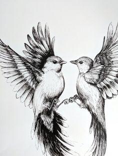 Flying Bird Drawing, Bird Pencil Drawing, Fly Drawing, Wings Drawing, Bird Drawings, Art Drawings Sketches, Flying Birds, Sketches Of Birds, Drawing Birds