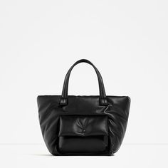 Image 2 of PADDED TOTE from Zara