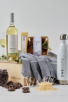 ONEHOPE Wine is a world-class vineyard in Napa Valley that makes a positive impact on the world with every bottle sold. See what's in store! Wine Not? Gift Crates, Wine Gift Boxes, Sauvignon Blanc, Cabernet Sauvignon, Wine Bottle Labels, Wine Fridge, Wine Cheese, Gift Hampers, Shipping Wine