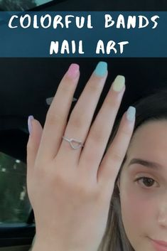 Semi-permanent varnish, false nails, patches: which manicure to choose? - My Nails Summer Acrylic Nails, Cute Acrylic Nails, Pastel Nails, Acrylic Nail Designs, Cute Nails, Pretty Nails, Spring Nails, Summer Nails, Minimalist Nails