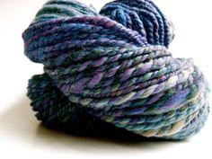 Blueberry Grape Handspun Yarn. https://www.etsy.com/listing/116145838/blueberry-grape-handspun-yarn, via Etsy.