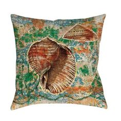 Shop for Coastal Motif II Indoor/ Outdoor Pillow. Free Shipping on orders over $45 at Overstock.com - Your Online Home Decor Outlet Store! Get 5% in rewards with Club O! - 16489070
