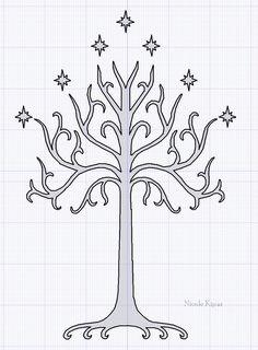 Whte Tree Of Gondor by ~Barnowler on deviantART
