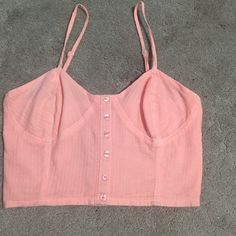 Crop top Never worn, brand new, adjustable straps and strechy back Band of Gypsies Tops Crop Tops