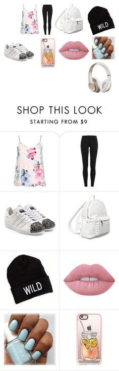 """""""Untitled #85"""" by queenari on Polyvore featuring Dorothy Perkins, Polo Ralph Lauren, adidas Originals, 7 Chi, American Eagle Outfitters, Lime Crime, Casetify and Beats by Dr. Dre"""
