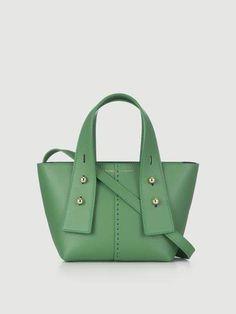 4107a576da1b 44 лучших изображения доски «Зеленые сумки» | Satchel handbags ...