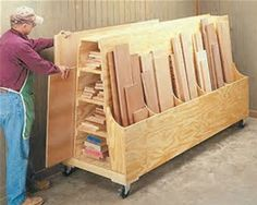 Image result for Scrap Wood Storage Cart Plans