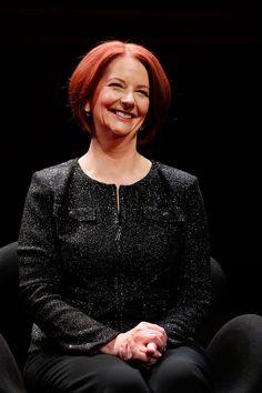 Julia Gillard, first female Prime Minister of Australia.
