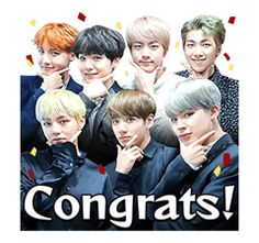 BTS Stickers - Official Stickers