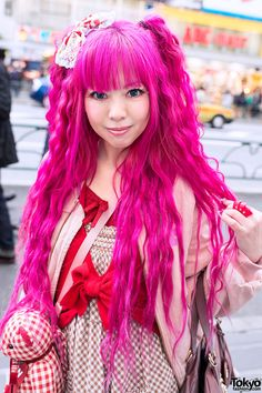 Harajuku Hair do!  #harajuku #japanesehairstyles