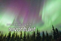 revonyulet ~ northern lights