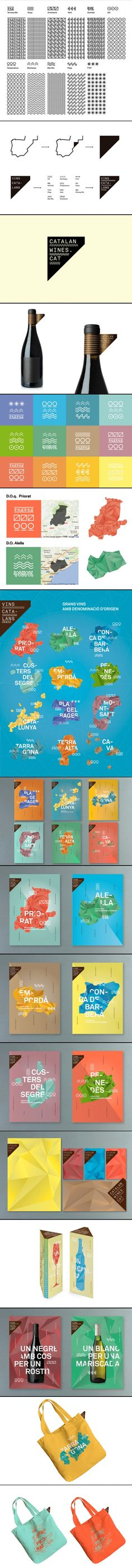Identity / catalan wines #branding #identity #wine #design
