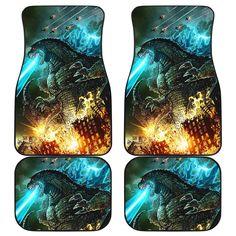 Godzilla 2019 Car Mats Car Mats, Car Floor Mats, Godzilla, Spiderman Car, Harry Potter Car, Legendary Monsters, Toothless Night Fury, Monster Car, Kirito Asuna