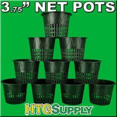 """TEN PACK - 3.75"""" Net Pots"""