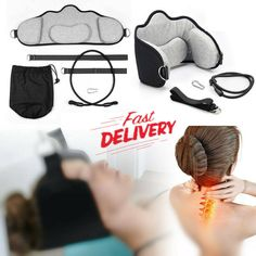 Hammock for Neck Headache Tension Pain Nerves Relief Cervical Traction Massage A #Unbranded Cervical Pain, Neck Headache, Neck Pain Relief, Neck Cream, Face Wrinkles, Neck Massage, Head And Neck, Face Serum, Hammock