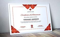 Certificate Of Achievement Word Template Prepossessing Gift Certificate Printing  Certificate Printing  Pinterest