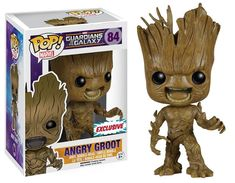 Buy Marvel Guardians of the Galaxy Angry Groot Funko Pop! Vinyl from Pop In A Box UK, the home of Funko Pop Vinyl subscriptions and more. Funko Pop Marvel, Lego Marvel, Marvel Comics, Pop Vinyl Figures, Funko Pop Toys, Funk Pop, Pokemon, Funko Figures, Pop Characters
