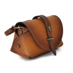Pratesi Buonconvento women leather shoulder bag clutch Italy Handmade
