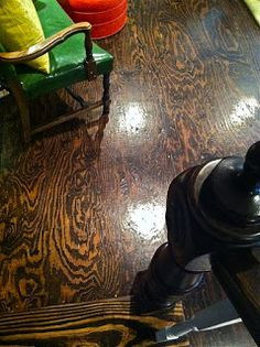 Aesthetically driven memories, observations & ideas, linked by a cheapskate designer:: Frankly m'dear, they ARE hardwood floors. Do It Yourself Furniture, Do It Yourself Home, Diy Flooring, Flooring Ideas, Plank Flooring, Hardwood Floors, Plywood Floors, Plywood Furniture, Painted Floors