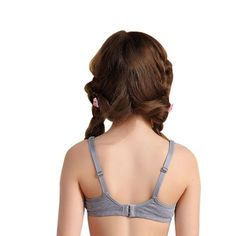 af09d8a74324a Training bra kids girls Soft Touch Cotton underwear sports kids vest bra  for teens child student
