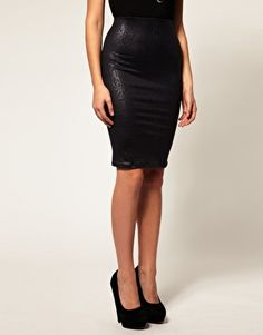 Leather pencil skirt $33