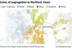 How railroads, highways and other man-made lines racially divide America's cities - The Washington Post