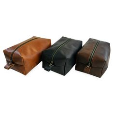 DEFY - Horween Leather Dopp Kit #fathersday
