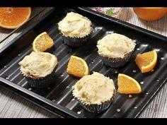 Cupcakes de naranja - Recetas de postres - Recetas de desayunos - YouTube