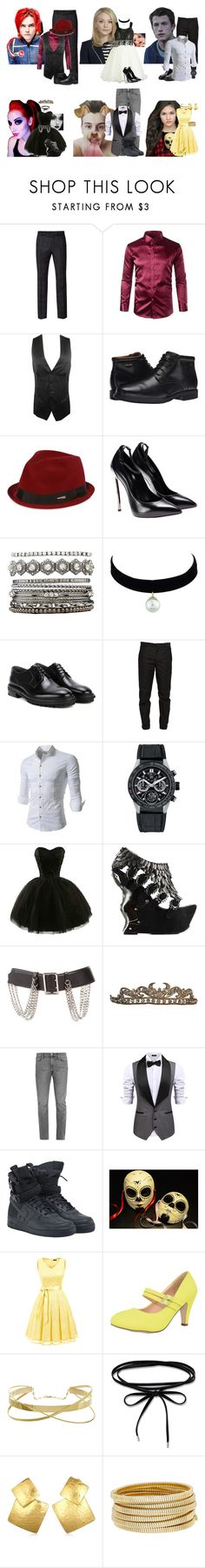 """""""LET'S PARTY LIKE IT'S MY CIVIL RIGHT/:/OUAD"""" by evil-queen3 ❤ liked on Polyvore featuring Ben Sherman, Yohji Yamamoto, Rockport, Dsquared2, Charlotte Russe, Lanvin, Maison Margiela, TAG Heuer, Burberry and Frame"""