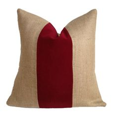 I pinned this Madeline Pillow In Burgundy from the A Bit of Burlap event at Joss and Main!